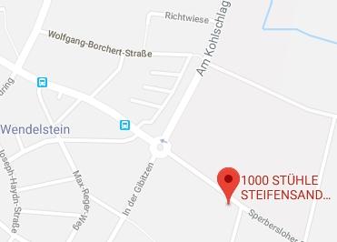 Google Anfahrt zu Sitwell
